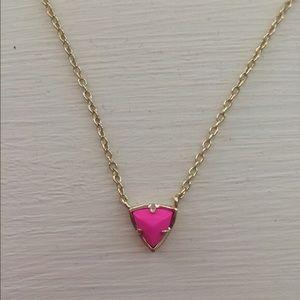 Kendra Scott Triangle Pendant Necklace
